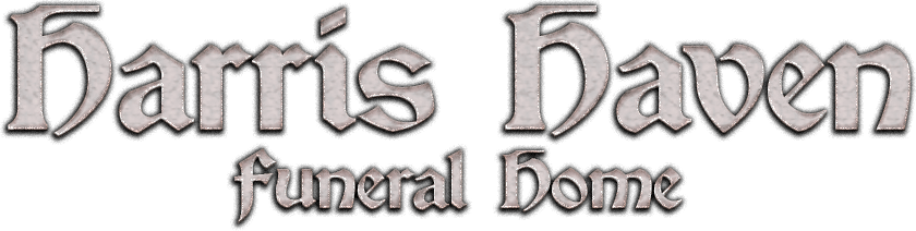 Harris Haven Haunted Funeral Home Logo
